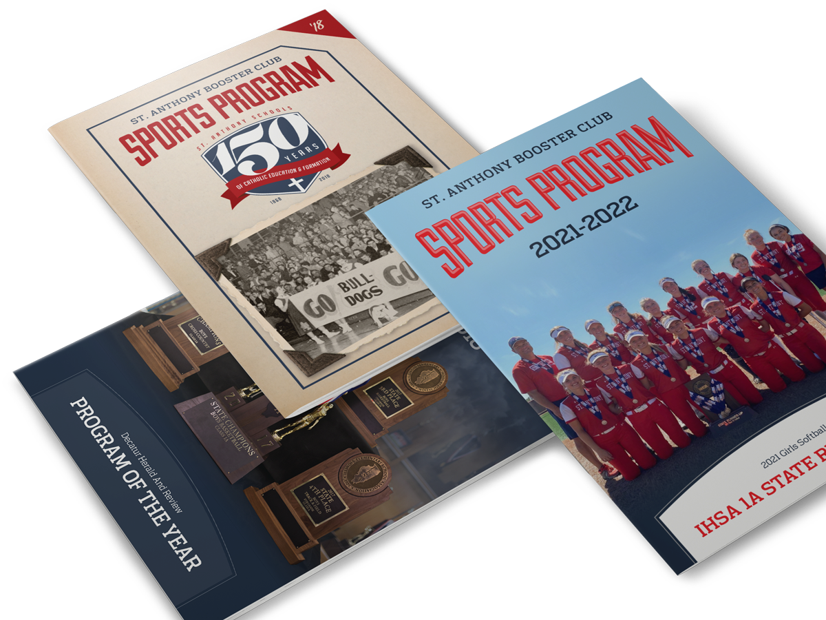 St. Anthony Booster Club Programs